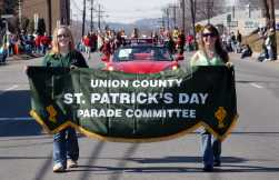 Parade Committee Sign.